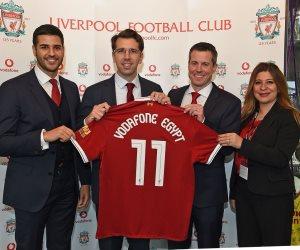 فودافون مصر توقع عقد رعاية مع ليڤربول الإنجليزي من أجل عشاق كرة القدم في مصر