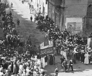 في الذكرى الـ99 لثورة 1919.. حينما اتحدت كل فئات الشعب ضد الاحتلال