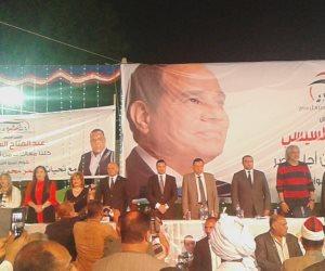 1400 مواطن من الصم والبكم يعنلون دعمهم للرئيس السيسي في مؤتمر بنقابة عمال الغزل