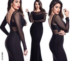 ياسمين صبري تسأل جمهورها: هل الأسود يليق بي؟ (صور وفيديو)
