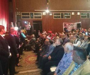 """كلنا معاك من أجل مصر تنظم مؤتمر جماهيري لدعم """"السيسي"""" بـ""""طوخ"""" (صور)"""