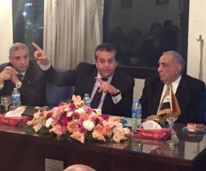 وزير التعليم العالي يشهد فعاليات ندوة الجمعية المصرية الإكلينيكية لطب الأسنان (صور)