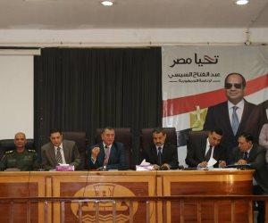 محافظ كفر الشيخ :رفع درجة الاستعداد للانتخابات الرئاسية و نسبة المشاركة  لن تقل عن 80%
