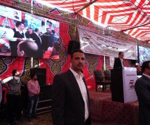 أهالي بلبيس ينظمون مؤتمرا حاشدا لدعم السيسي في انتخابات الرئاسة (صور)