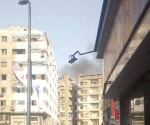 السيطرة على حريق داخل شقة سكنية في العمرانية بدون إصابات