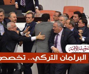 """البرلمان التركي.. تخصص """"خناقات"""" (فيديوجراف)"""
