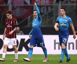 ميلان يتقدم وأرسنال يتعادل في مباراة مثيرة بالدوري الأوروبي