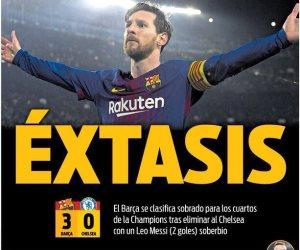 ميسي يتصدر قائمة برشلونة لمواجهة ليجانيس وغياب بوسكيتس
