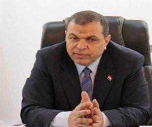سعفان يهنئ حبيب بالعيد القومي لمحافظة بني سويف
