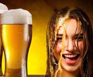 المحرمات المفيدة.. البيرة مع البيض وخل التفاح والفراولة  لجمال الشعر ونمو أسرع
