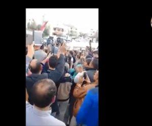 الناخبون المصريون يرعبون قطر من الكويت (فيديو)