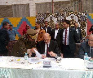 مديرى أمن الشرقية يعتمد النتيجة النهائية لقرعة الحج (صور)