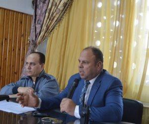 مساعدا محافظ كفر الشيخ يناقشان الاستعدادات للانتخابات الرئاسية (صور)