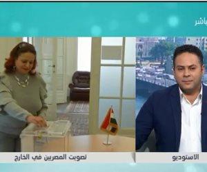 سفير مصر بنيوزيلندا :مشاركة المصريين بكثافة في الانتخابات دليل على امتلاكهم الحس الوطنى