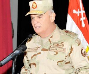محمد فريد يشهد المرحلة الرئيسية للمشروع التكتيكي بجنود «طاهر 57»