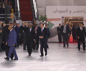 ننشر صورا من احتفالية الأسرة المصرية وفيديو حكاية وطن في حضور الرئيس السوداني