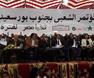 أشرف رشاد من بورسعيد : وجودنا أمام اللجان تأييد للوطن وحمايةً له (صور وفيديو)