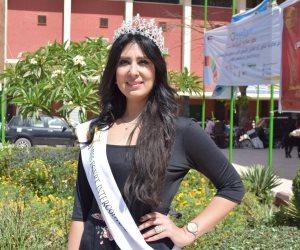 ملكة جمال مصر للقارات بسوهاج للمشاركة فى يوم اليتيم العربى (صور)