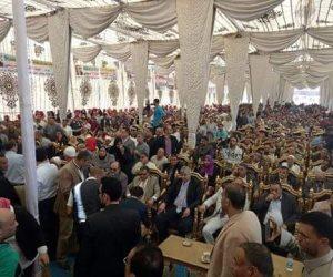 """حملة """"كلنا معاك من أجل مصر"""" تنظم مؤتمرا جماهيرا لدعم الرئيس السيسى بوادى النطرون (صور)"""