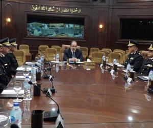 «عبدالغفار» يراجع خطة تأمين انتخابات الرئاسة مع قيادات وزارة الداخلية