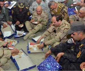"""الرئيس السيسي يدعم أبطال سيناء.. وبرلمانيون: زيارة قوية وتاريخية تؤكد استكمال استراتيجية """"سيناء 2018"""""""