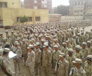 وصول قوات الجيش المؤمنة للانتخابات الرئاسية للمنوفية (صور)