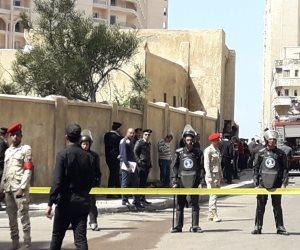 مساعد وزير الداخلية السابق: تفجير الإسكندرية رداً على زيارة السيسي لسيناء (صور)