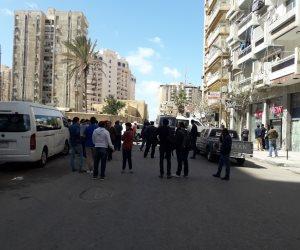 خاص| شهود عيان يروون تفاصيل محاولة اغتيال مدير أمن الإسكندرية (صور)