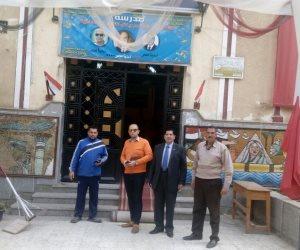 القضاة يتوافدون على اللجان الإنتخابية بكفر الشيخ لمتابعة مدى جاهزيتها (صور)