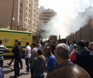 القائمة الكاملة لبيانات ضحايا حادث محاولة اغتيال مدير أمن الإسكندرية
