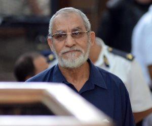 اليوم.. جنايات القاهرة تستكمل محاكمة بديع وآخرين في «فض رابعة»