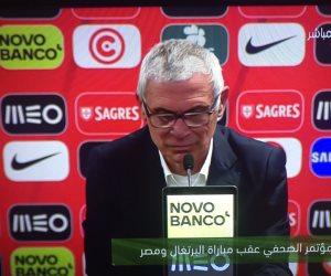 كوبر يشيد بأداء لاعبي المنتخب في ودية البرتغال