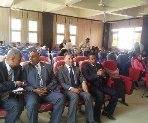 انطلاق فعاليات المؤتمر الطلابي الأول بجامعة أسوان