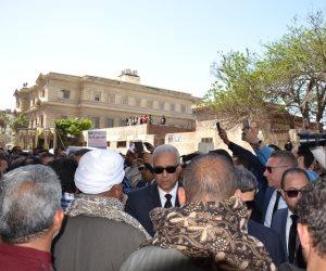 محافظ الاسكندرية يؤكد على إصرار المصريين في الحفاظ على حقهم الدستوري