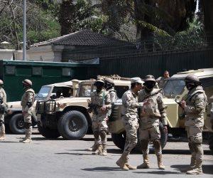 استعدادات مكثفة للقوات المسلحة ووزارة الداخلية لتأمين احتفالات رأس السنة