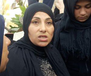 زوجة شهيد حادث الإسكندرية : «زوجي أوصانى بالتصويت في الانتخابات»