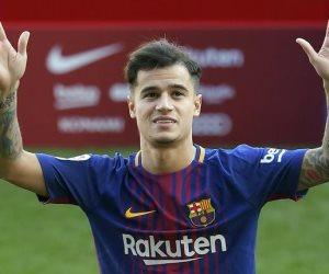 فيليب كوتينيو لاعب برشلونة الإسبانى يطالب ناديه بالتعاقد مع محمد صلاح
