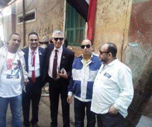مسيرة تجوب شوارع حي شبرا لحث المواطنين على المشاركة بالانتخابات (صور)