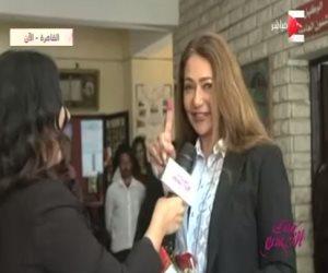 ليلي علوي لـ«ست الحسن»: المشاركة في الانتخابات حقنا