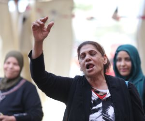 زغروطة مصرية في الانتخابات الرئاسية (صور)