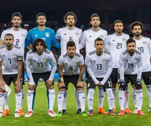 انطلاق مباراة مصر واليونان بعزف النشيد الوطني