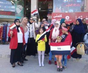 القومي للمرأة يتابع ويحشد السيدات للمشاركة في انتخابات الرئاسة بالعريش (صور)