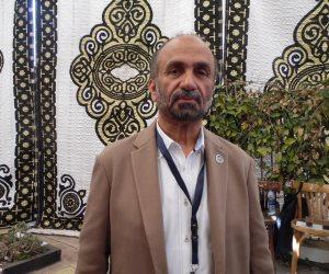 محمد الجروان: المصريون يبهرون العالم بحرصهم على بلادهم (صور)