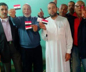 العاملون بأوقاف الإسكندرية يضربون أروع الأمثلة بالمشاركة فى الانتخابات الرئاسية (صور)