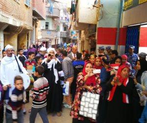 ملحمة شعبية على لجان الاقتراع بمدينة ومركز كفر الدوار بالبحيرة (صور)