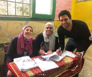 حسن الرداد عن تصويته بانتخابات الرئاسة: مصر غالية (فيديو وصور)