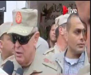رئيس أركان القوات المسلحة: الانتخابات مشهد حضارى يدل على الاستقرار والأمان بمصر
