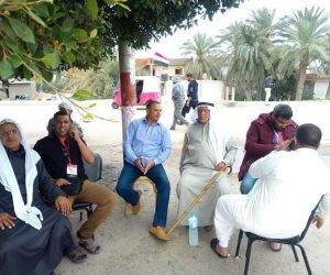 «قبيلة الأخارسة» بسيناء تحتفل بعرس انتخابات الرئاسة بالمزمار البلدي والزغاريد (صور)