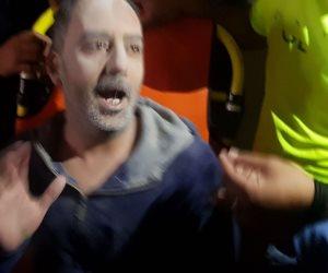 وصول مدير أمن الإسكندرية لمعاينة انهيار سقف ووفاة طفل بباب شرق (صور)