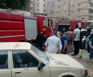 حريق في شارع الهرم.. والحماية المدنية تسيطر عليه